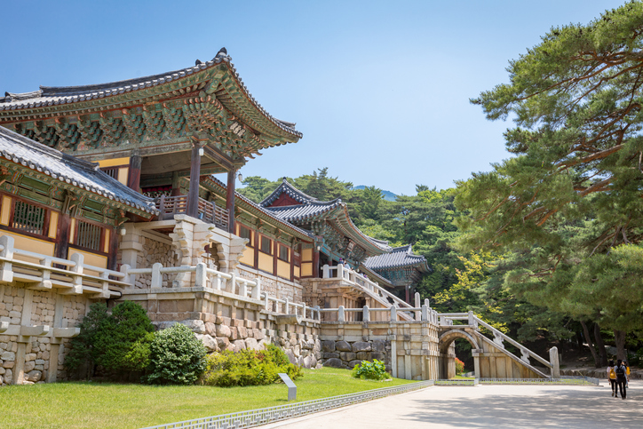 Jun 23, 2017 Bulguksa temple in Gyeongju, South Korea - Tour destination