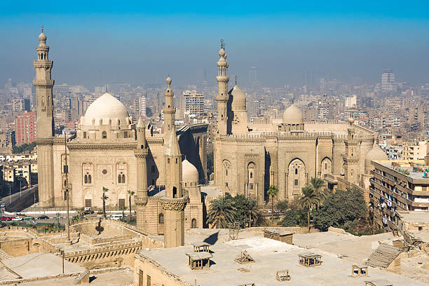 Royal Mosque and Mosque-Madrassa of Sultan Hassan, Cairo (Egypt)