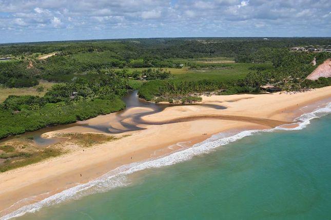 Troncoso. Praia do Rio da Barra