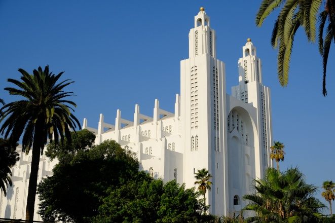 Morocco Casablanca Cathedral Church of the Sacred Heart horizontal