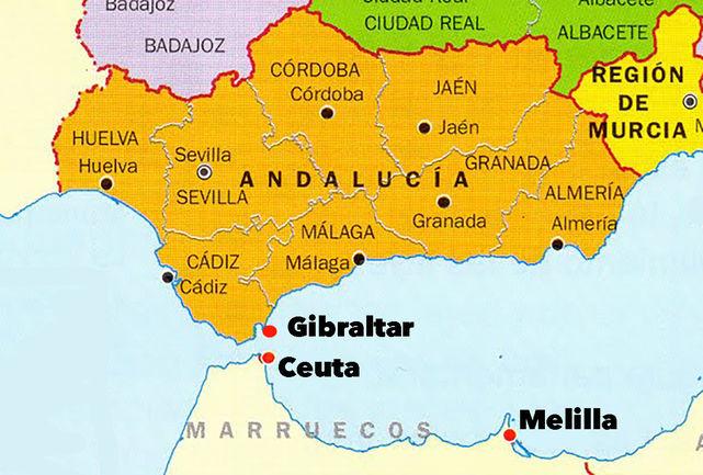 Andalucia-mapa